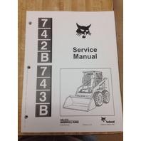 Bobcat 743B Service Manual Book Skid steer 6720772
