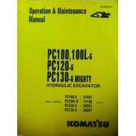 KOMATSU PC100 PC100L-6 PC120-6 Hydraulic Excavator Operation Maintenance Manual