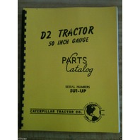 Cat Caterpillar D2 Parts manual book dozer 5U 1 up NEW