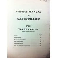 CAT Caterpillar 955H Crawler Loader Dozer Service Technical Manual Book NEW 60a