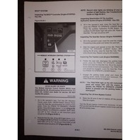 Bobcat 864 Track Skid Steer Service manual book 6900945