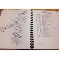 Case 450B Crawler Tractor Bulldozer Parts Manual Book A1372