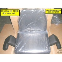 International Dresser TD8E TD8C Dozer 4pc Seat Cushion set IH