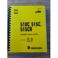 IH International 510C 515C 515CH Wheel Loader PARTS Manual Book PM510C/515C