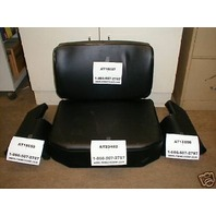 John Deere 350c 450c dozer Loader Seat Cushion set crawler 4 pc THICK ARM RESTS*