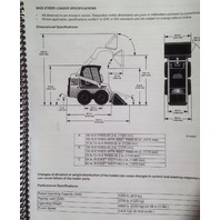 Bobcat 753G 753 G Operation & Maintenance Manual Book 6900969 operator