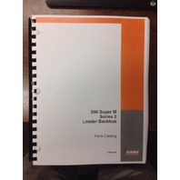 Case 590SM Series 2 II 590 SUPER M Backhoe PARTS Manual BOOK 7-9061NA