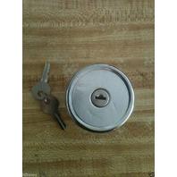 Locking Fuel Cap Case 1840 1845 1845c 40XT 45XT 90XT skid steer loader