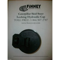 Caterpillar cat Skid Steer loader Locking Hydraulic oil Cap 1428937