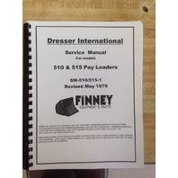 Dresser 510 515 Wheel Loader Service Shop Manual Book SM-510/515-1 PLAIN