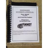 Dresser 510 515 Wheel Loader PARTS Manual Catalog Book PC-510/515-4 PLAIN