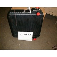 Case Backhoe 580 SUPER L 580L 590SL Radiator  234876A1 234876A2 Metal tank 580SL