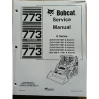 Bobcat 773G skid steer loader Service Manual Turbo Book Form 6900834