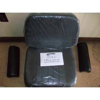 Caterpillar 955L 955K NON SUSPENSION SEAT loader 4 piece Cushion Cat arm rests