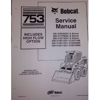 Bobcat 753H 753 H Service Manual Book Skid steer loader 6900090