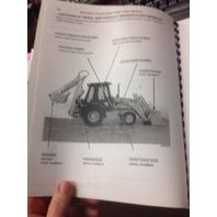 Case 590 Super L 590SL Loader Backhoe Parts Manual book BUR8-9951 catalog