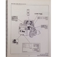 Bobcat 763G 763 Operation & Maintenance Manual 6900971
