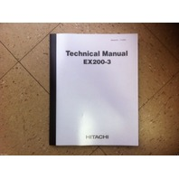 Hitachi EX200-3 Excavator Service Technical TROUBLESHOOTING Manual Shop T137300