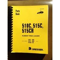Dresser IH 510C 515C Wheel Loader PARTS Manual Catalog Book PC510C/515C Komatsu