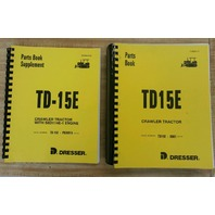 International Dresser TD15E Dozer Crawler ENGINE & CHASSIS Parts Book Manual NEW