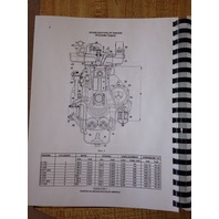 International Dresser IH 510B 515B Wheel Loader ENGINE SERVICE Shop Manual Book