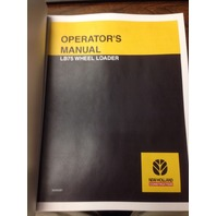 New Holland LB75 loader backhoe operators manual operator operation maintenance