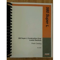 Case 580 Super L 580SL Loader Backhoe Parts manual book 8-9931