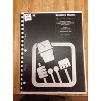 International Dresser 510B 515B Wheel Loader Operators Maintenance Manual Book