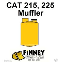 Cat Caterpillar 215 225 Excavator NEW Muffler 6N3964