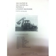 Case 580SM Super M M+ Series 2 II Backhoe Parts Manual Catalog ENGLISH 7-9042NA