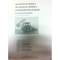Case 580SM Super M M+ Series 2 II Backhoe Parts Manual Catalog FRENCH 7-9042FC