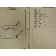 Bobcat 743 early parts Manual Book Skid steer loader 6566179