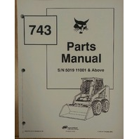 Bobcat 743 early parts Manual Book Skid steer loader 6566179
