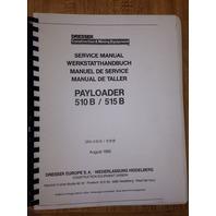International Dresser IH 510B 515B Wheel Loader Service Shop Manual Book