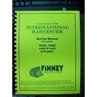 International IH Crawler dozer loader TD7E TD8E 100E 125E Service Shop Manual HI