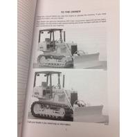 Case 550G Crawler Dozer Operation Maintenance Manual Bur 9-26012 Operator's