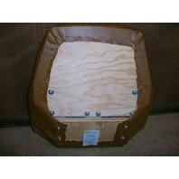 Case 580K Backhoe SUSPENSION SEAT replace cushion set
