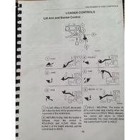 Case 580L 580 Super L 590L 580SL 590SL Loader Backhoe Operators Manual NEW
