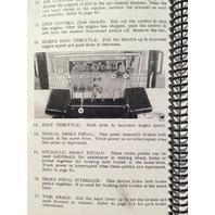 Case 850B crawler dozer loader Operation Operators Maintenance Manual book
