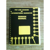 International IH 175 175B Loader Service Shop Manual