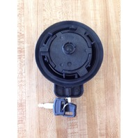 FYA00010024 DEERE JD Excavator Locking Fuel Cap With Keys 240DLC 75D 120D 135D