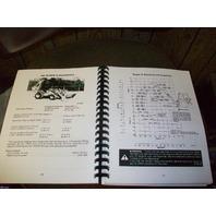 Case 580D 580 Super D Loader Backhoe Operators Manual Operation book 9-6621 NEW