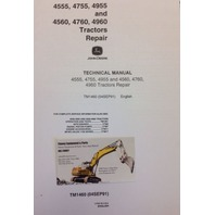 John Deere JD 4555 4755 4955 4560 4760 Farm Tractor Service Repair Manual TM1460