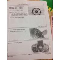 John Deere JD 550B 555B Crawler Service Technical Repair Manual Book TM1331