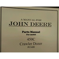 John Deere JD 450C Crawler Dozer Parts Manual PC1420