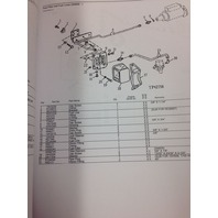 John Deere JD 544E 624E Wheel Loader Parts Manual Book PC2170