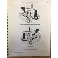 John Deere JD 440 ICD Crawler Tractor Loader Parts Manual Book PC609 PC613