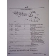 John Deere JD 450 Dozer Loader Parts Manual PC922 PC918 PC927