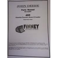 John Deere JD 450 Dozer Loader Parts Manual PC922 PC918 PC927