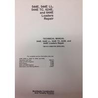 John Deere JD 544E 624E 644E Wheel Loader Service Technical Repair Manual TM1414